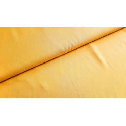 Viscose unie jaune moutarde